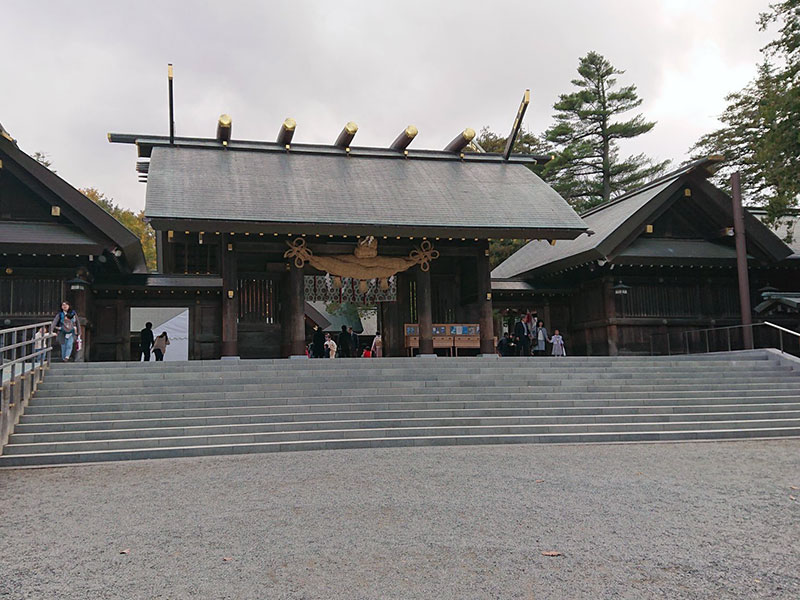 hokkai02 - 2020年 北海道出張ついでに北海道神宮参拝!