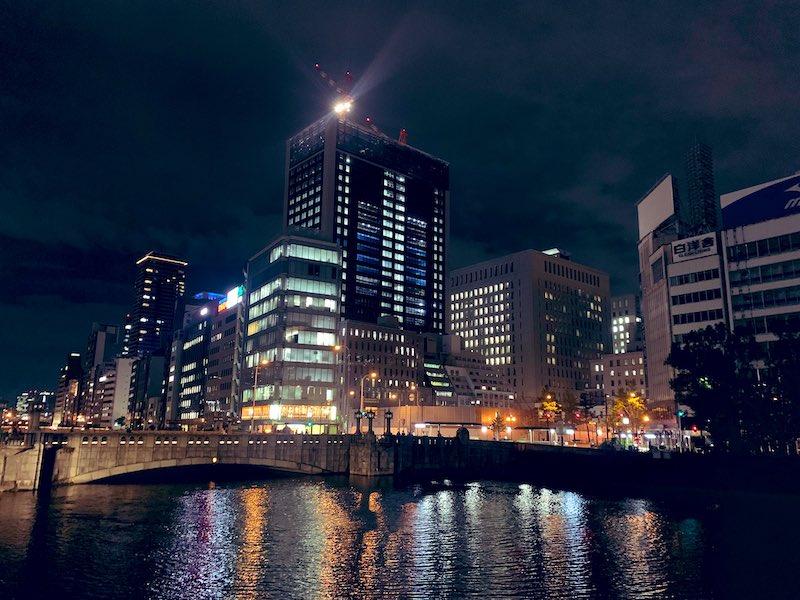osaka job syuttyou 3 - 京都出張から大阪出張へ夜の大阪城まで散歩