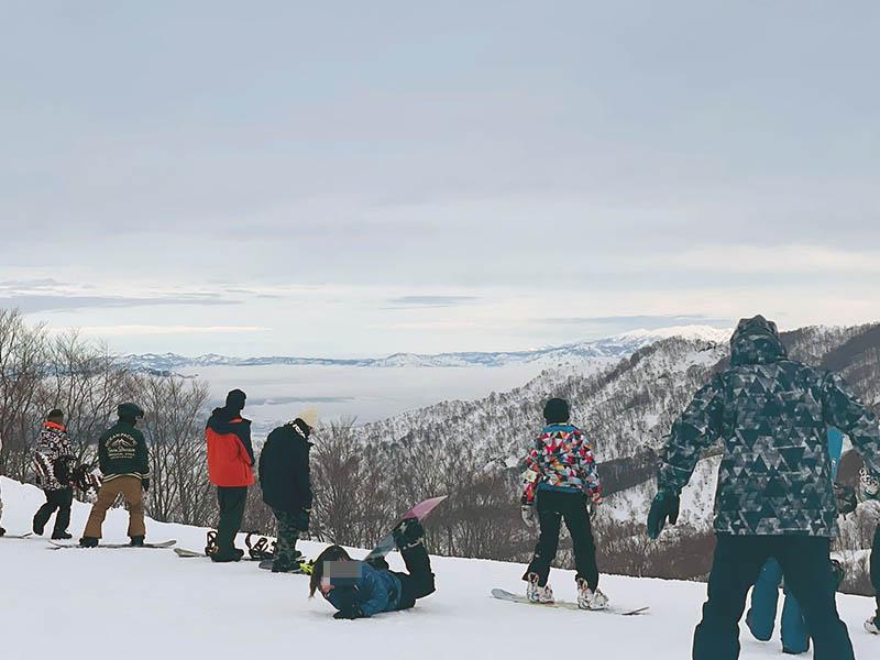 snow board dangan - 日帰り弾丸スノボからの人妻拘束調教エッチ!滑走距離が長いゲレンデランキング笑