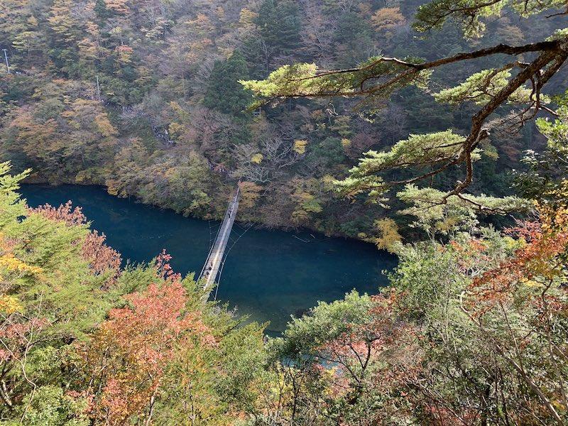 tuketikyou sizuoka2 - 寸又峡紅葉散歩とさわやかハンバーグ